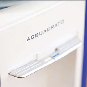 Acquadrato bottled water cooler close
