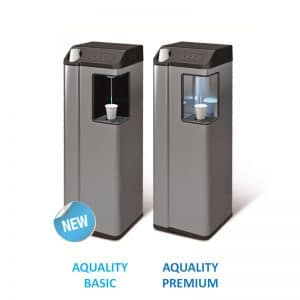 Plumbed in Office water Cooler cosmetal aquality pou supplied by Cameron Water